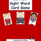 Sight Words Go Fish Card Game