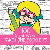 Sight Word  Take Home Practice Books