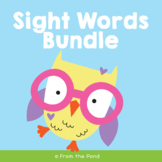Sight Words Ultimate Pack - Every Resource From Our Program