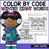 Sight Words-Winter Color by Code