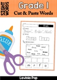 Sight Words - Cut and Paste Worksheets (Grade 1 Words)