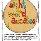 Sight word pancakes