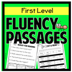 Sight words and fluency activities - First Level - Aligned