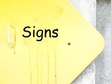 Signs We Should Recognize