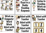 Signs to Help Manage Language Arts Centers