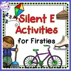 Silent E Activities for Firsties