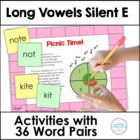 Silent E Words: Time for a Picnic!