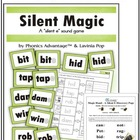 "Silent Magic - A ""silent e"" phonics sound game"
