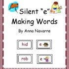 "Silent ""e"" Making Words"