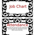 Job Chart Black White (Silly Circle Collection) Edit Class