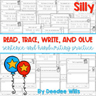 Silly, Silly  Read, Trace, Glue, and Draw