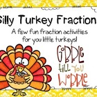 Silly Turkey! Pies are for Kids! Fall Fraction Activities!