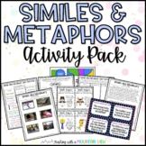 Simile and Metaphor Activity Pack and Task Cards (Common C