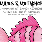 Similes and Metaphors {A Mini-Unit of Centers, Games and A