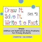 Simple Addition & Subtraction Story Problems SmartBoard le