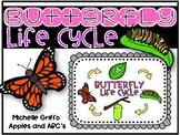 Simple Life Cycle of a Butterfly: 4 stages