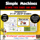 Simple Machines: Science Task Cards and More