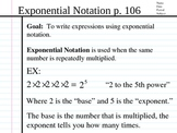 Simplify Exponential Expressions