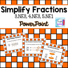 Simplify Fractions Powerpoint