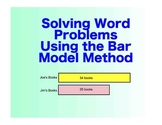 Singapore Math: A SmartBoard Intro to the Bar Model - 3rd
