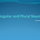 Singular and Plural Nouns PowerPoint