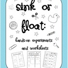 Sink or Float? Hands-on Experiments and Worksheets!