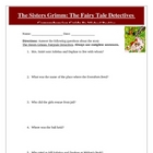 Sisters Grimm Fairytale Detectives Reading Test, Answer Ke