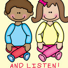 Sit Up Straight and Listen - Lesson + Action Rhymes for the Mat