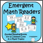 Six Emergent Math Guided Reading Books: Maddy and Matt