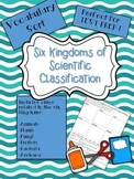 Six Kingdoms Science Classification Vocabulary Word Sort