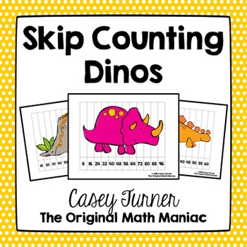 Skip Counting Dino Puzzles