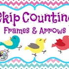 Skip Counting Frames and Arrows ~ FREEBIE in the Preview