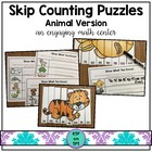 Skip Counting Game Animal Theme