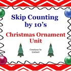 Skip Counting by 10's (Christmas Ornament Unit)