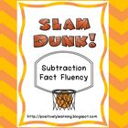 Slam Dunk Subtraction Fact Fluency