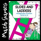 Slides and Ladders--Multiplication & Division Facts to 12