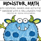 Slime Time {Games, Centers and Activities for 2nd Grade}