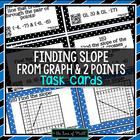 Slope: 30 Task Cards ***QR Codes Optional***