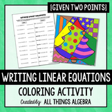 Writing Linear Equations {Given Two Points} - Holiday Colo