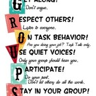Small Group Norms (Rules for Working in a Small Group)