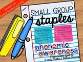 Small Group Staples: Phonemic Awareness for Guided Reading & RTI