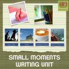 Small Moments Writing Workshop  Paper - Using Checklists!