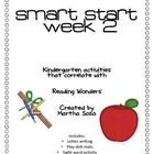 Smart Start Week 2: Kindergarten Word Work and Writing Packet