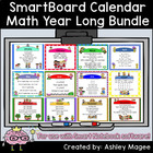 SmartBoard Calendar Math and Morning Meeting Bundle