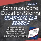 Common Core Annotated Standards and Question Stems for Gra