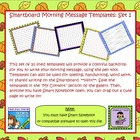 Smartboard Morning Message Templates Set 1
