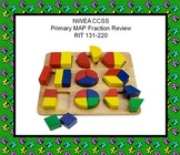 Smartboard NWEA CCSS Primary MAP Fraction Review RIT 131-220