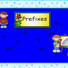 Smartboard Prefixes Activity