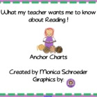 Smartboard Reading Anchor Charts