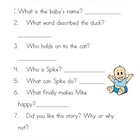 Smile Mike Comprehension Questions